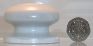 white and cream cupboard knobs