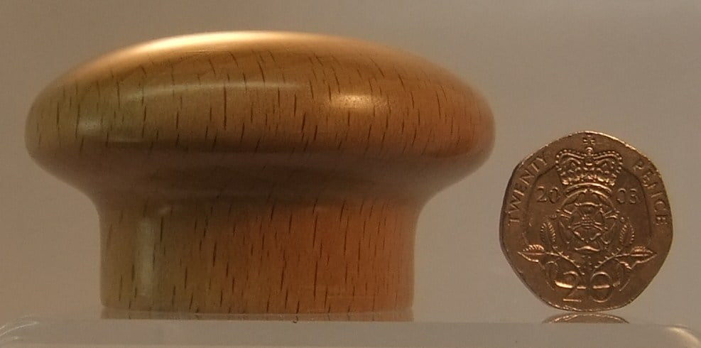 Light Oak Wooden Cupboard Knob Knobbs Hardware