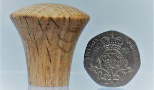 wooden cupboard knob oak shaker style knob