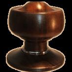 Rosewood door knobs