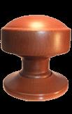 Handmade wooden door knobs