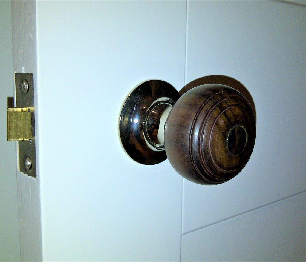 rosewood door handles